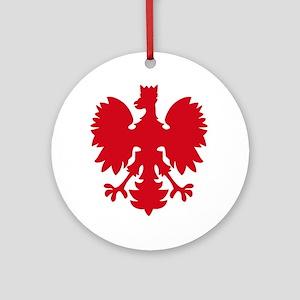 polish eagle Keepsake (Round)