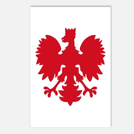 polish eagle Postcards (Package of 8)