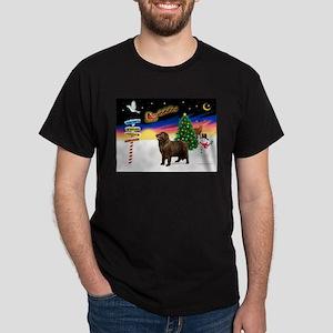 XmasSigns/Newfie Dark T-Shirt