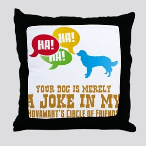Hovawart Throw Pillow