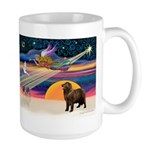 XmasStar/ Newfie Large Mug