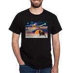 XmasStar/ Newfie Dark T-Shirt