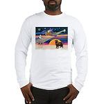XmasStar/ Newfie Long Sleeve T-Shirt