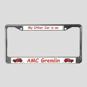 Gremlin License Plate Frame