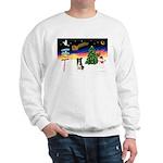 XmasSigns/BorderCollie 4 Sweatshirt