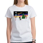 XmasSigns/BorderCollie 4 Women's T-Shirt