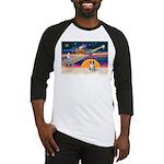 XmasStar/Border Collie Baseball Jersey