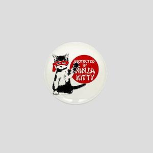 Ninja Kitty! Mini Button
