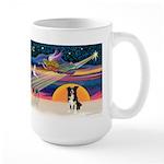 XmasStar/Border Collie #4 Large Mug