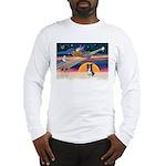 XmasStar/Border Collie #4 Long Sleeve T-Shirt