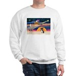 XmasStar/Border Collie #4 Sweatshirt