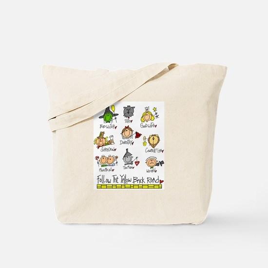 The Oz Gang Tote Bag