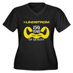 150 Years Plus Size V-Neck Tee