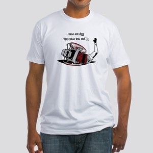 Flip Me Over Fitted T-Shirt