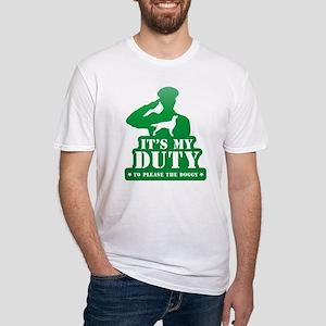 Irish Red & White Setter Fitted T-Shirt