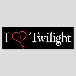 I Love Twilight Bumper Sticker