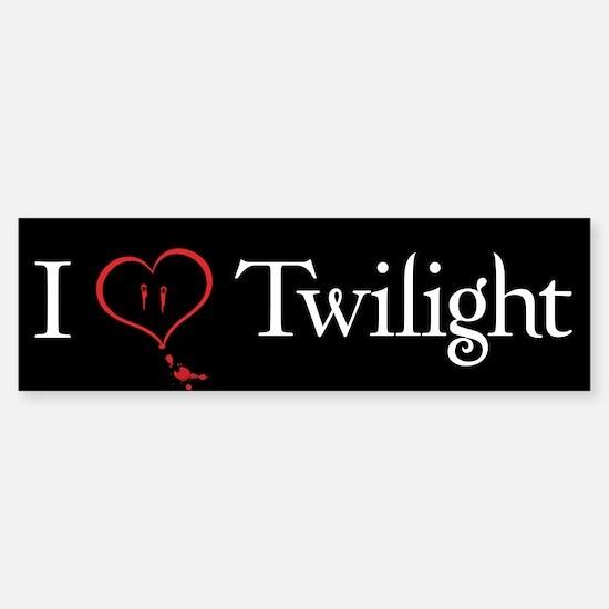 I Love Twilight Bumper Bumper Bumper Sticker
