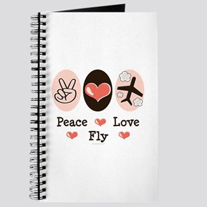 Peace Love Fly Pilot Journal
