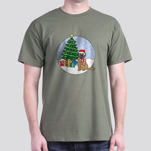 Leonberger Christmas Dark T-Shirt