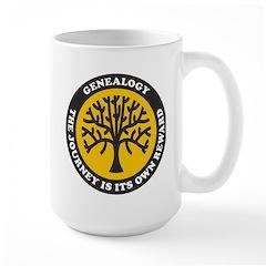 Journey Is Reward Large Mug