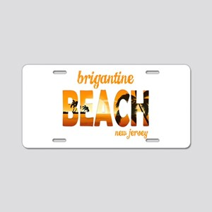 New Jersey - Brigantine Aluminum License Plate