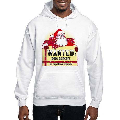 North Pole Dancers Hooded Sweatshirt