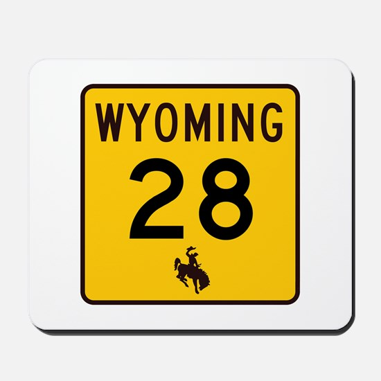 Highway 28, Wyoming Mousepad