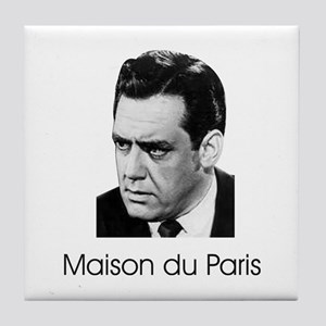 French Collection Perry Mason Tile Coaster