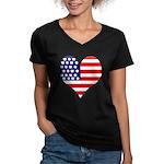 The Ultimate Shirt Women's V-Neck Dark T-Shirt