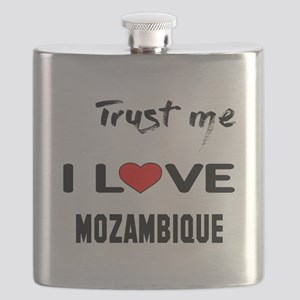 Trust me I Love Mozambique Flask