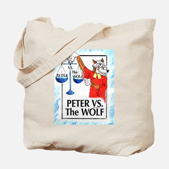 Peter VS the Wolf Tote Bag