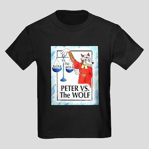 Peter VS the Wolf Kids Dark T-Shirt