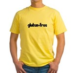gluten-free (chick) Yellow T-Shirt