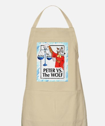 Peter VS the Wolf BBQ Apron