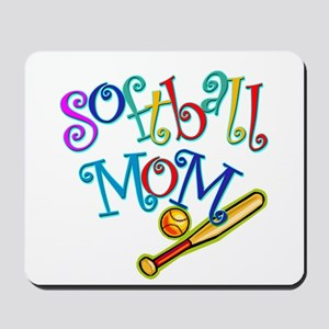 Softball Mom II Mousepad