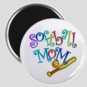"Softball Mom II 2.25"" Magnet (10 pack)"