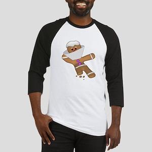 Funny Gingerbread (Ginger Snap) Cookie Bit Himself
