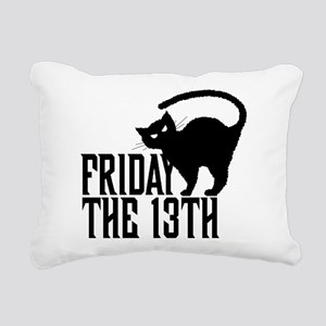 Friday the 13th Rectangular Canvas Pillow