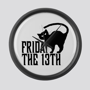Friday the 13th Large Wall Clock