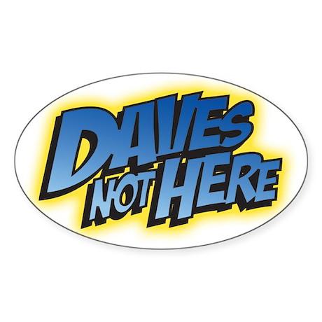 DNH Oval Sticker