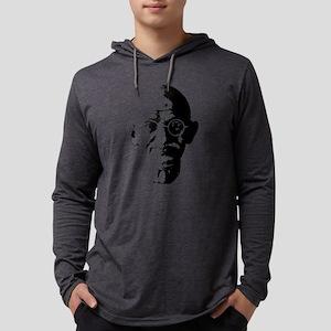 Mahatma Ghandi Minimalistic Po Long Sleeve T-Shirt
