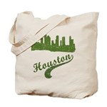 Houston Skyline Reusable Canvas Tote Bag