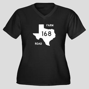 Farm-to-Market Road 168. Texas Women's Plus Size V