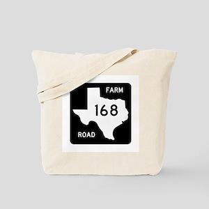 Farm-to-Market Road 168. Texas Tote Bag