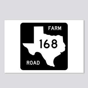 Farm-to-Market Road 168. Texas Postcards (Package