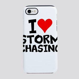 I Love Storm Chasing iPhone 8/7 Tough Case
