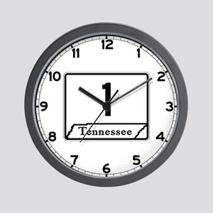 State Route 1, Tennessee Wall Clock