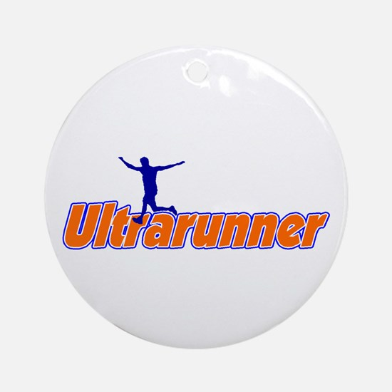 Ultrarunner Ornament (Round)