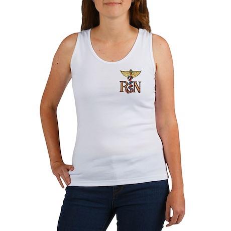 RN Caduceus Women's Tank Top
