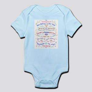 Ten Commandments Infant Bodysuit
